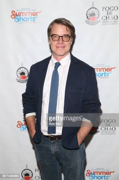 Mark Boyett attends the OffBroadway opening night party for 'SUMMER SHORTS 2017' at Fogo de Chao Churrascaria on August 7 2017 in New York City
