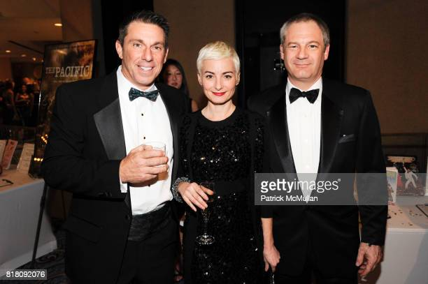 Mark Boyland Nicholas Miscusi and Bronwen attend CHRISTOPHER DANA REEVE Foundation's A Magical Evening 20th Anniversary Gala at the Mariott Marquis...