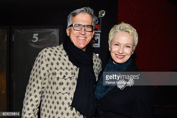 Mark Bozek and Susan Bozek attend the DOC NYC Premiere 'The Incomparable Rose Hartman' at IFC Center on November 13 2016 in New York City
