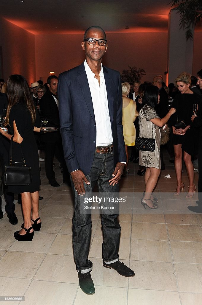 Mark Bradford attends 2012 Hammer Gala at Hammer Museum on October 6, 2012 in Westwood, California.