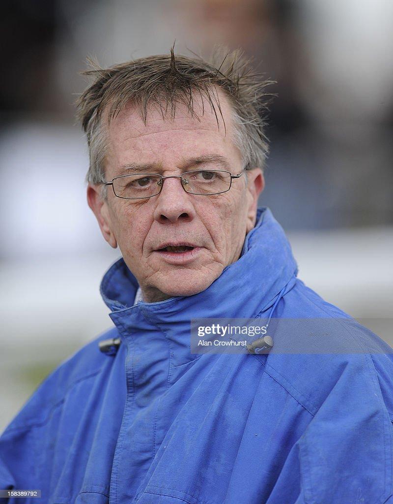 Mark Bradstock poses at Cheltenham racecourse on December 15, 2012 in Cheltenham, England.