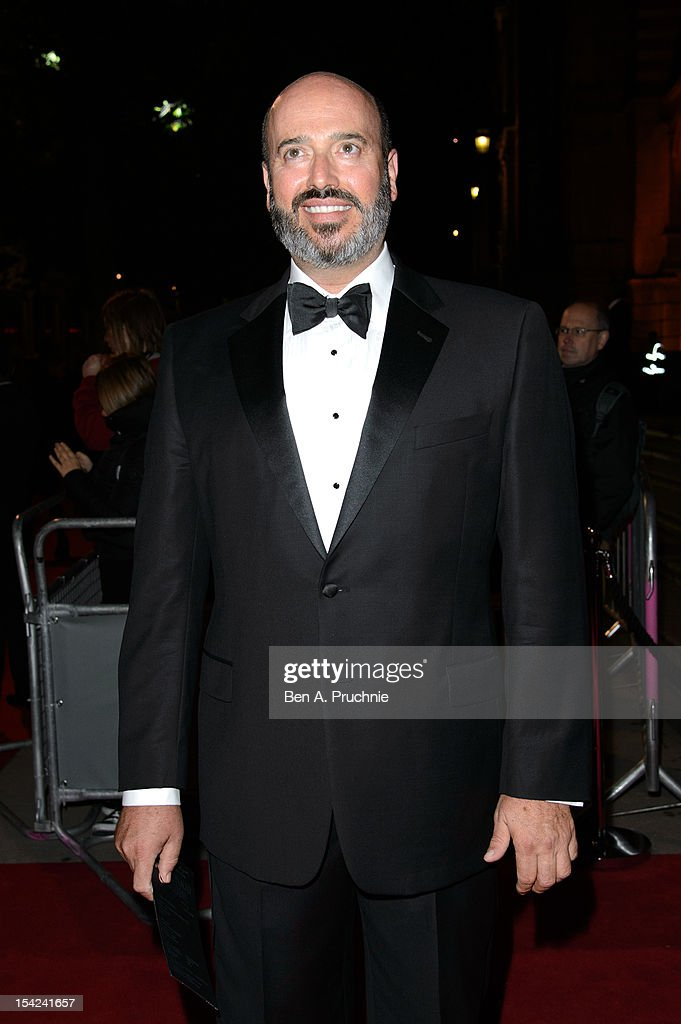 Mark Bridges attends the Hollywood Costume gala dinner at Victoria & Albert Museum on October 16, 2012 in London, England.