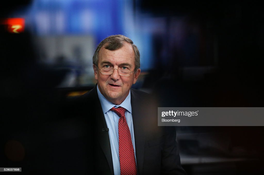 Mark Bristow, chief executive officer of Randgold Resources Ltd., speaks during a Bloomberg Television interview in London, U.K., on Wednesday, May 4, 2016. Randgold, which mines for the metal in Mali, Ivory Coast and the Democratic Republic of Congo, reported first-quarter profit of $54.4 million, 13 percent higher than a year earlier. Photographer: Chris Ratcliffe/Bloomberg via Getty Images