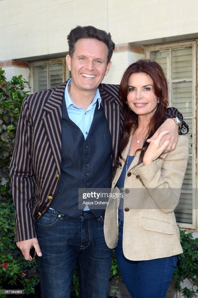 <a gi-track='captionPersonalityLinkClicked' href=/galleries/search?phrase=Mark+Burnett&family=editorial&specificpeople=204697 ng-click='$event.stopPropagation()'>Mark Burnett</a> and <a gi-track='captionPersonalityLinkClicked' href=/galleries/search?phrase=Roma+Downey&family=editorial&specificpeople=214162 ng-click='$event.stopPropagation()'>Roma Downey</a> attend the 18th Annual Los Angeles Times Festival of Books - Day 2 at USC on April 21, 2013 in Los Angeles, California.