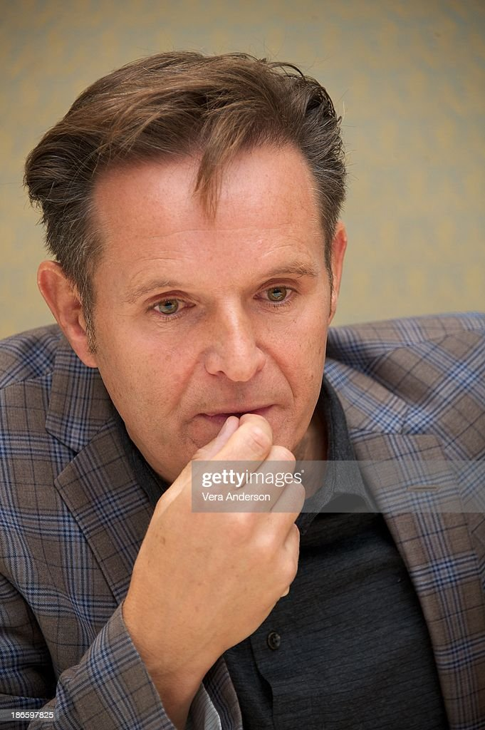 <a gi-track='captionPersonalityLinkClicked' href=/galleries/search?phrase=Mark+Burnett&family=editorial&specificpeople=204697 ng-click='$event.stopPropagation()'>Mark Burnett</a> at the History Channel's 'The Bible' Press Conference at the Four Seasons Hotel on October 30, 2013 in Beverly Hills, California.