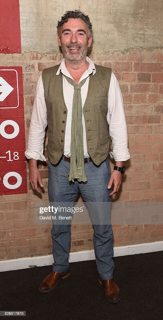 Mark Cameron attends the World Premiere press night performance of 'The Buskers Opera' at The Park Theatre on May 5, 2016 in London, England.