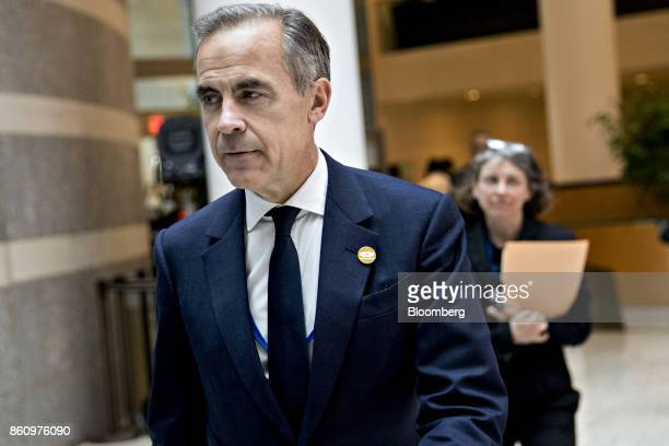 Mark Carney governor of the Bank of England walks to a Group of 20 finance ministers and central bank governors meeting on the sidelines of the...