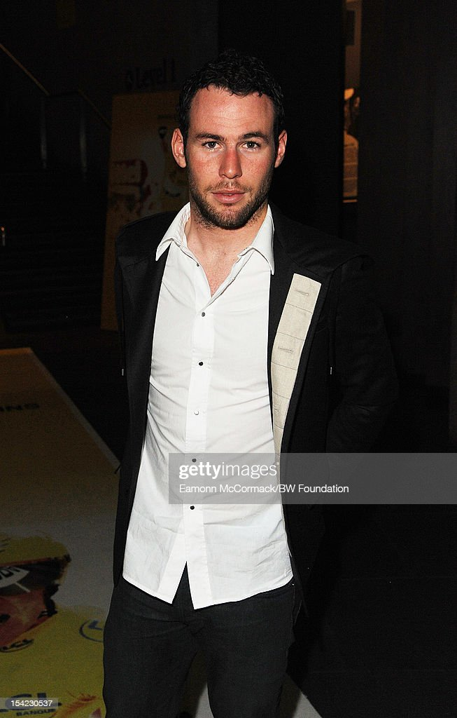 Mark Cavendish attends the Bradley Wiggins Foundation 'The Yellow Ball' event at The Roundhouse on October 16, 2012 in London, England. The dinner and entertainment show was held to celebrate the historic achievements of Great Britain's cyclist Bradley Wiggins in 2012, including his Tour de France win and Olympic gold achievements. The Foundation aims to promote participation in sport, to encourage young people to exercise regularly, and to support athletes from all sports to take their talent to the next level.