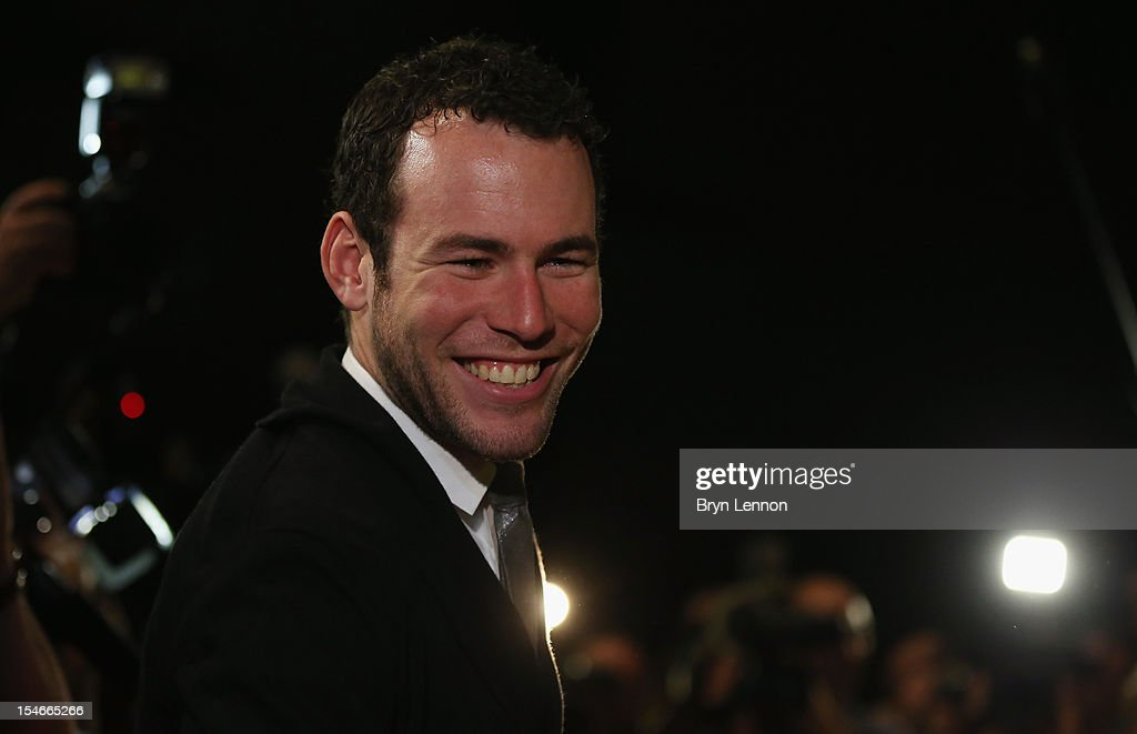 <a gi-track='captionPersonalityLinkClicked' href=/galleries/search?phrase=Mark+Cavendish&family=editorial&specificpeople=684957 ng-click='$event.stopPropagation()'>Mark Cavendish</a> of Great Britain attends the 2013 Tour de France Route Presentation at the Palais des Congres de Paris on October 24, 2012 in Paris, France.