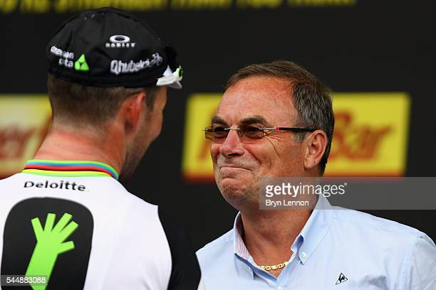 Mark Cavendish's 28th Tour de France stage win draws him level with Bernard Hinault after stage three of the 2016 Tour de France a 2235km road stage...