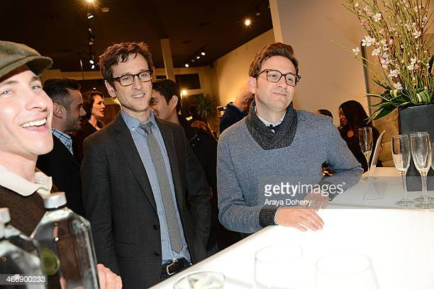 Mark CirilloJack Plotnick and Tom Lenk attend the Camerich LA's Chinese New Year benefit for Project Angel Food on February 4 2014 in Beverly Hills...