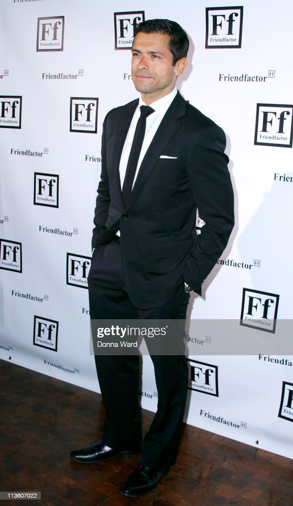 Mark Consuelos attends the New York launch of Friendfactor at Lavo on May 3, 2011 in New York City.