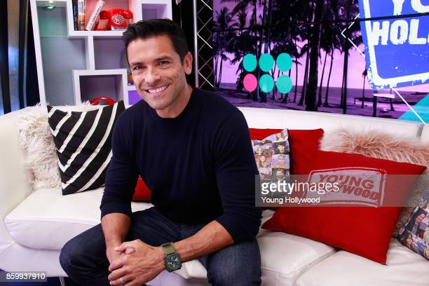 Mark Consuelos visits the Young Hollywood Studio on October 10 2017 in Los Angeles California