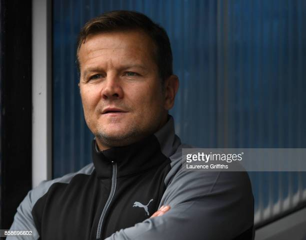 Mark Cooper of Forest Green Rovers looks on during the Sky Bet League Two match between Notts County and Forest Green Rovers at Meadow Lane on...