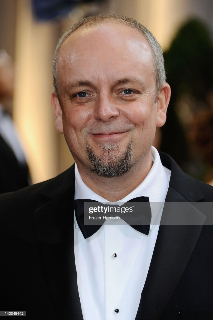 Mark Coulier arrives at the 84th Annual Academy Awards held at the Hollywood & Highland Center on February 26, 2012 in Hollywood, California.