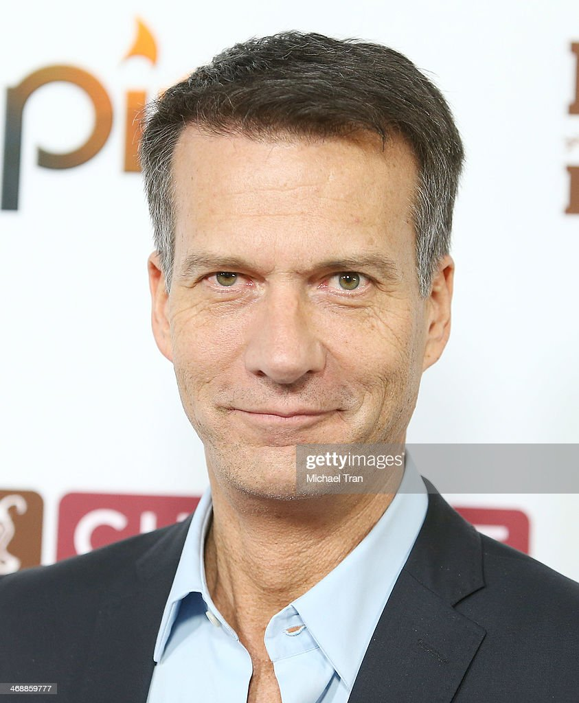 Mark Crumpacker arrives at the Chipotle world premiere of original comedy web series 'Farmed And Dangerous' held at DGA Theater on February 11, 2014 in Los Angeles, California.
