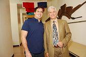 Mark Cuban and Larry Benveniste during Mark Cuban Visits Goizueta Business School at Emory University at Goizueta Business School in Atlanta GA...