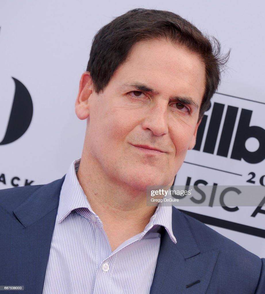 Mark Cuban arrives at the 2017 Billboard Music Awards at T-Mobile Arena on May 21, 2017 in Las Vegas, Nevada.
