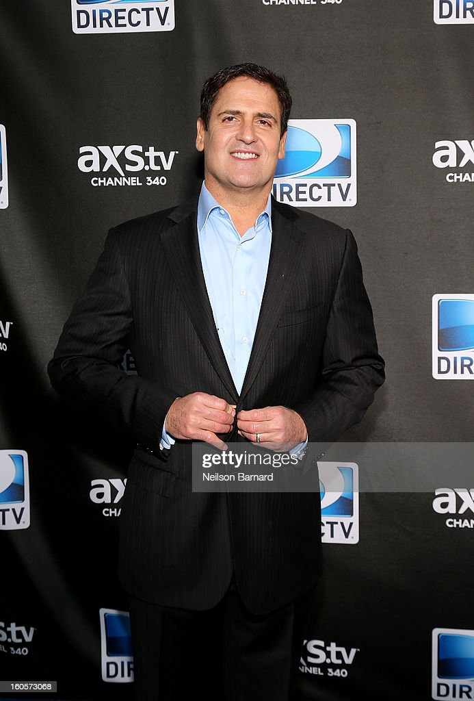 <a gi-track='captionPersonalityLinkClicked' href=/galleries/search?phrase=Mark+Cuban&family=editorial&specificpeople=203295 ng-click='$event.stopPropagation()'>Mark Cuban</a> attends DIRECTV Super Saturday Night Featuring Special Guest Justin Timberlake & Co-Hosted By <a gi-track='captionPersonalityLinkClicked' href=/galleries/search?phrase=Mark+Cuban&family=editorial&specificpeople=203295 ng-click='$event.stopPropagation()'>Mark Cuban</a>'s AXS TV on February 2, 2013 in New Orleans, Louisiana.