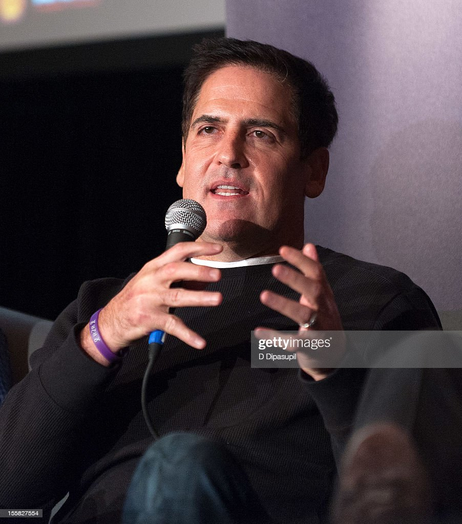 Mark Cuban attends 'Spinning The Turnstiles In New Directions' during the 2012 Billboard Touring Conference at the Roosevelt Hotel on November 8 2012...