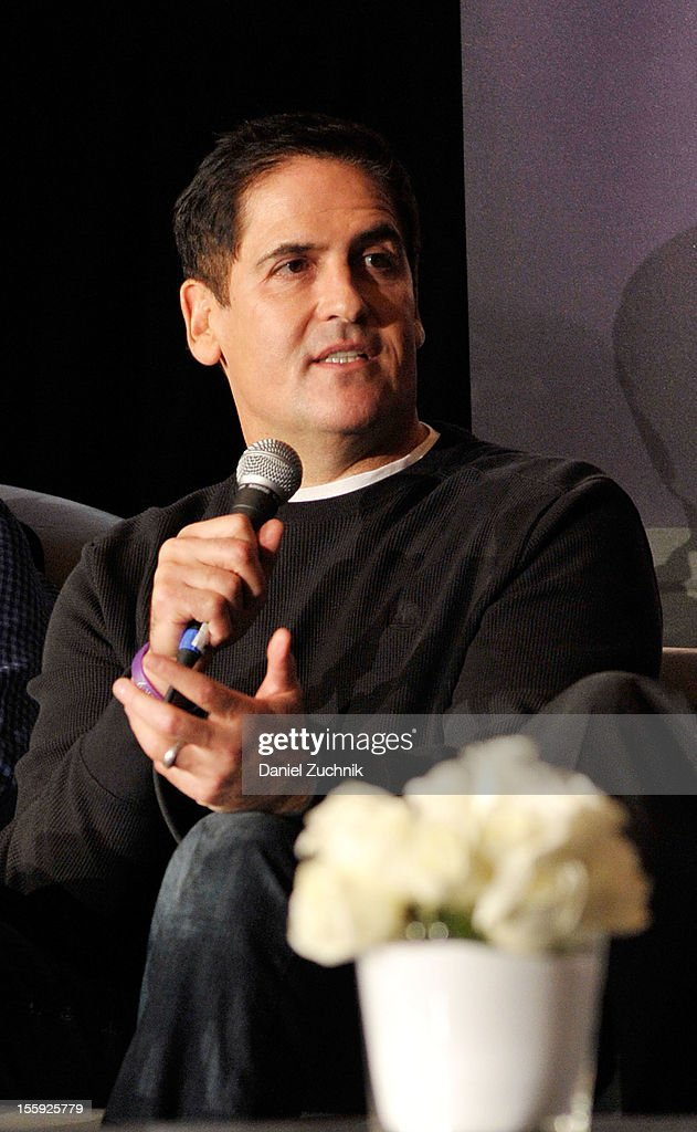 Mark Cuban attends the 2012 Billboard Touring Conference & Awards Keynote Address at Roosevelt Hotel on November 8, 2012 in New York City.