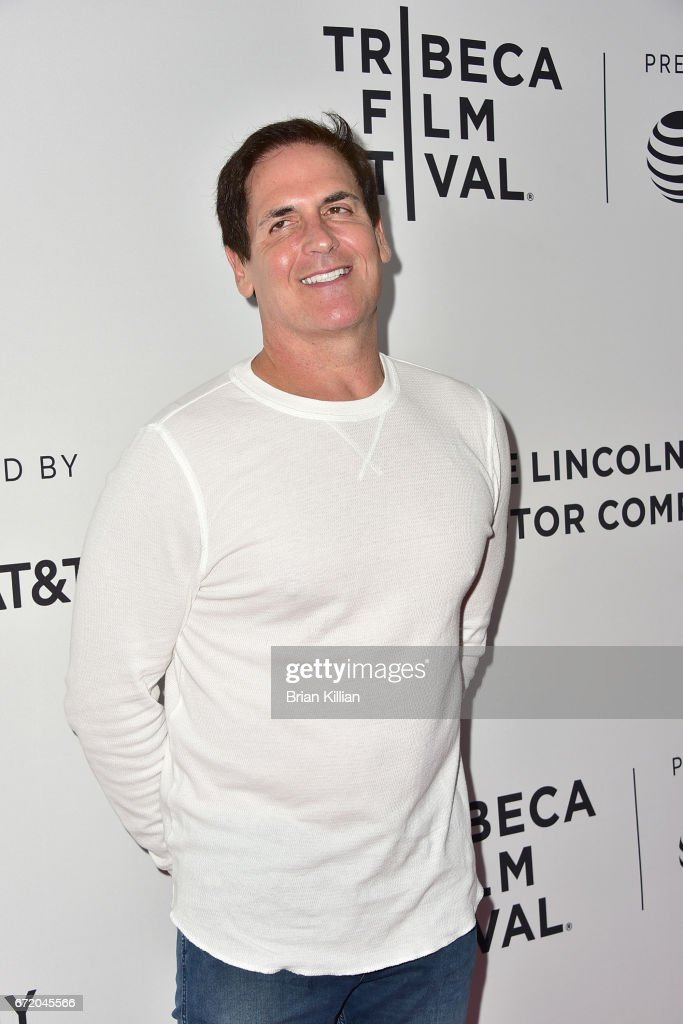 Mark Cuban attends the 2017 Tribeca Film Festival 'The Clapper' screening at SVA Theatre on April 23, 2017 in New York City.