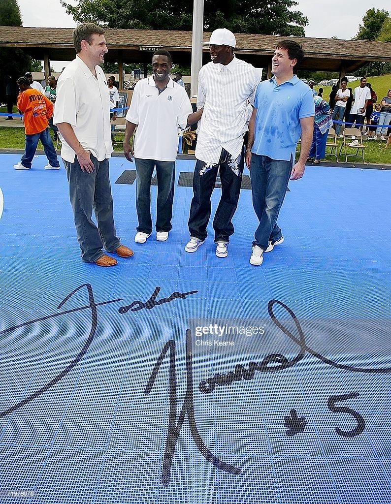 Josh Howard Dedicates Basketball Court s and