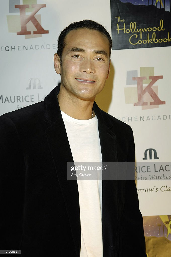 <a gi-track='captionPersonalityLinkClicked' href=/galleries/search?phrase=Mark+Dacascos&family=editorial&specificpeople=3208274 ng-click='$event.stopPropagation()'>Mark Dacascos</a> during Hollywood Cookbook Launch Party at Kitchen Academy in Hollywood, California, United States.