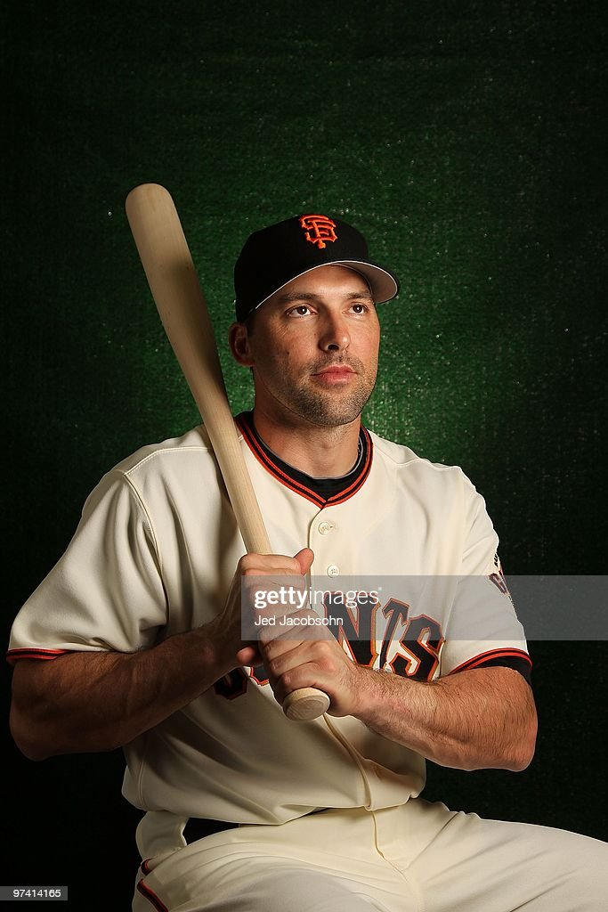 <a gi-track='captionPersonalityLinkClicked' href=/galleries/search?phrase=Mark+DeRosa&family=editorial&specificpeople=228401 ng-click='$event.stopPropagation()'>Mark DeRosa</a> of the San Francisco Giants poses during media photo day on February 28, 2010 at Scottsdale Stadium in Scottsdale, Arizona.