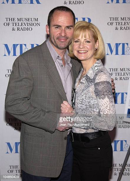 Mark Derwin and Bonnie Hunt during The 20th Anniversary William S Paley Television Festival Opening Night Party Sponsored by The Hollywood Reporter...