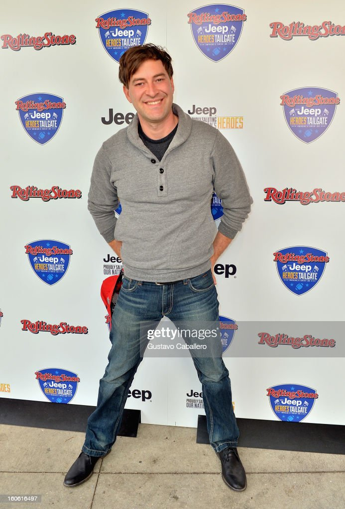 <a gi-track='captionPersonalityLinkClicked' href=/galleries/search?phrase=Mark+Duplass&family=editorial&specificpeople=572703 ng-click='$event.stopPropagation()'>Mark Duplass</a> attends the Rolling Stone Hosted Jeep Heroes Tailgate on February 3, 2013 in New Orleans, Louisiana.
