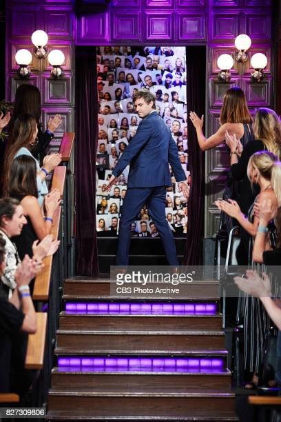 Mark Duplass greets the audience during 'The Late Late Show with James Corden' Tuesday July 25 2017 On The CBS Television Network