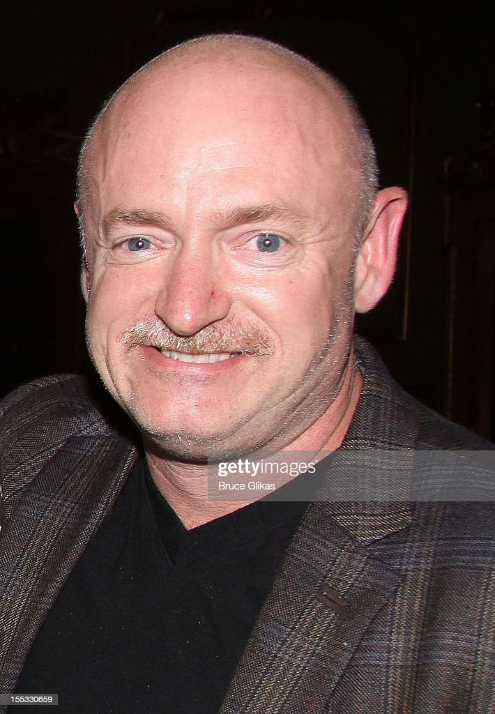 Mark E. Kelly poses backstage at the hit revival of 'Annie' on Broadway at The Palace Theater on November 2, 2012 in New York City.