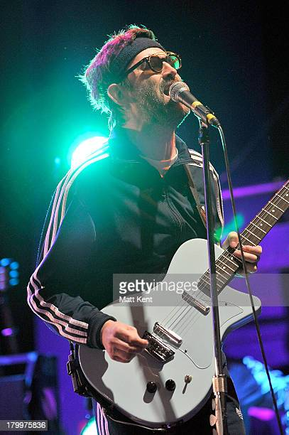 Mark Everett of Eels performs at Shepherds Bush Empire on September 7 2013 in London England