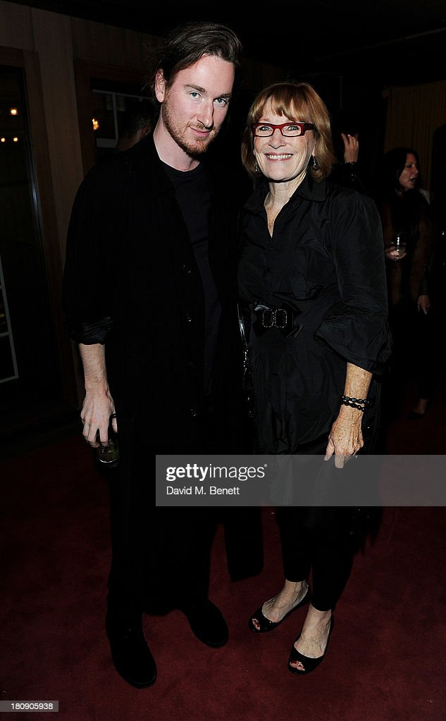Mark Fast (L) attends the Marie Claire 25th birthday celebration featuring Icons of Our Time in association with The Outnet at the Cafe Royal Hotel on September 17, 2013 in London, England.