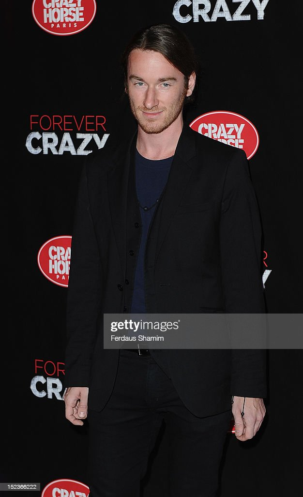 Mark Fast attends the premiere of Crazy Horse on September 19, 2012 in London, England.