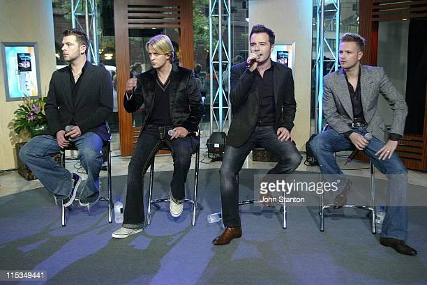 Mark FeehilyKian EganShane Filan and Nicky Byrne of Westlife