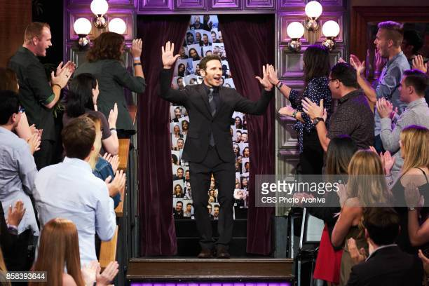 Mark Feuerstein greets the audience during 'The Late Late Show with James Corden' Wednesday October 4 2017 On The CBS Television Network