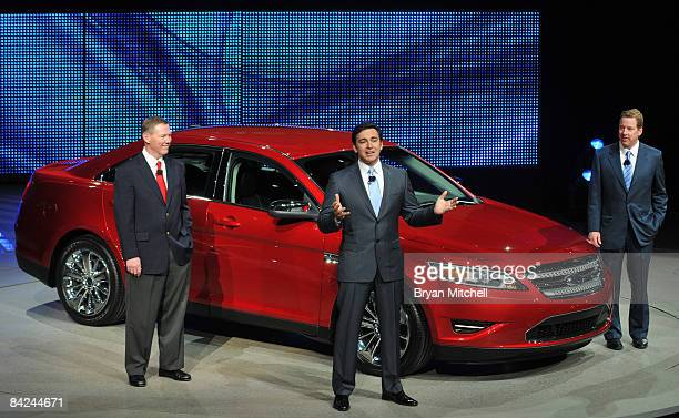 Mark Fields Executive Vice President and President the Americas Ford Motor Company Alan Mulally President and CEO Ford Motor Company and Bill Ford...