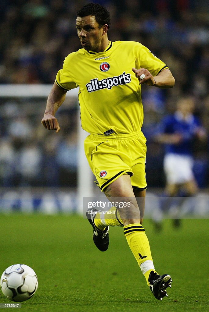 Mark Fish of Charlton Athletic in action during the FA Barclaycard Premiership match between Leicester City and Charlton Athletic on Novermber 22, 2003 at Walkers Stadium in Leicester, England. The match ended in a 0-0 draw.
