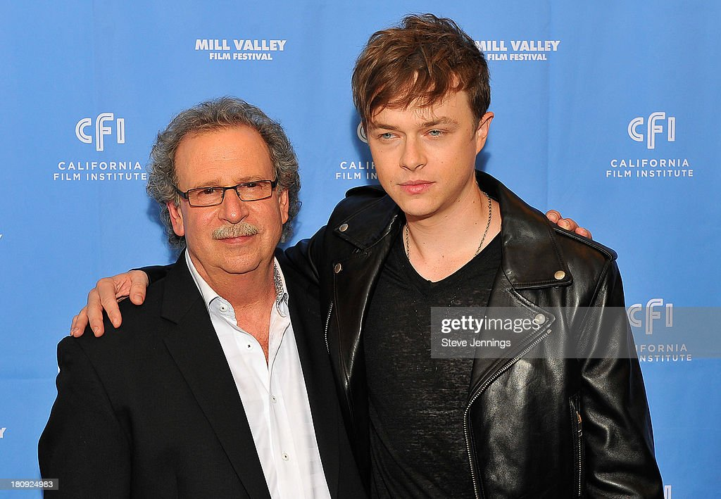 Mark Fishkin and Dane DeHaan attend the 'Metallica Through The Never' U.S. Public Premiere and Special Advance 36th Annual Mill Valley Film Festival Kick-Off Event at Christopher B. Smith Rafael Film Center on September 17, 2013 in San Rafael, California.