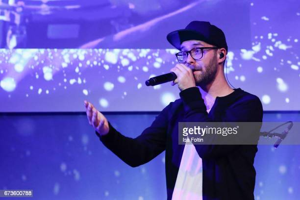 Mark Forster during the German Computer Games Award 2017 at WECC on April 26 2017 in Berlin Germany