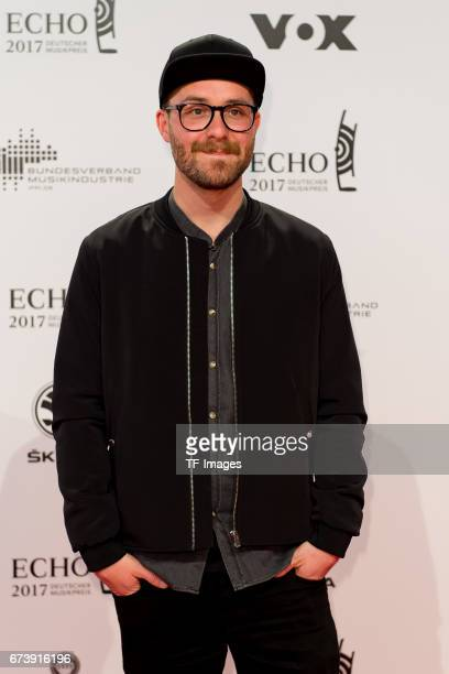 Mark Forster on the red carpet during the ECHO German Music Award in Berlin Germany on April 06 2017