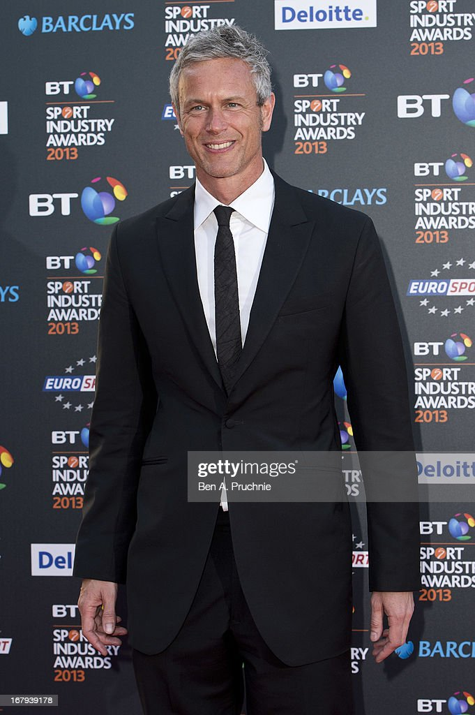 <a gi-track='captionPersonalityLinkClicked' href=/galleries/search?phrase=Mark+Foster+-+Swimmer&family=editorial&specificpeople=4237085 ng-click='$event.stopPropagation()'>Mark Foster</a> attends the BT Sports Industry awards at Battersea Evolution on May 2, 2013 in London, England.