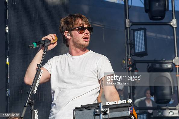 Mark Foster of Foster the People performs at Bottle Rock festival at Napa Valley Expo on May 31 2015 in Napa California