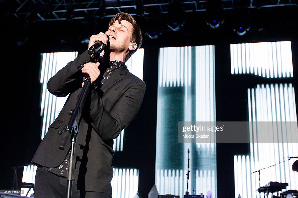 Mark Foster of Foster the People performs at Live 105 BDF on June 1, 2014 in Mountain View, California.