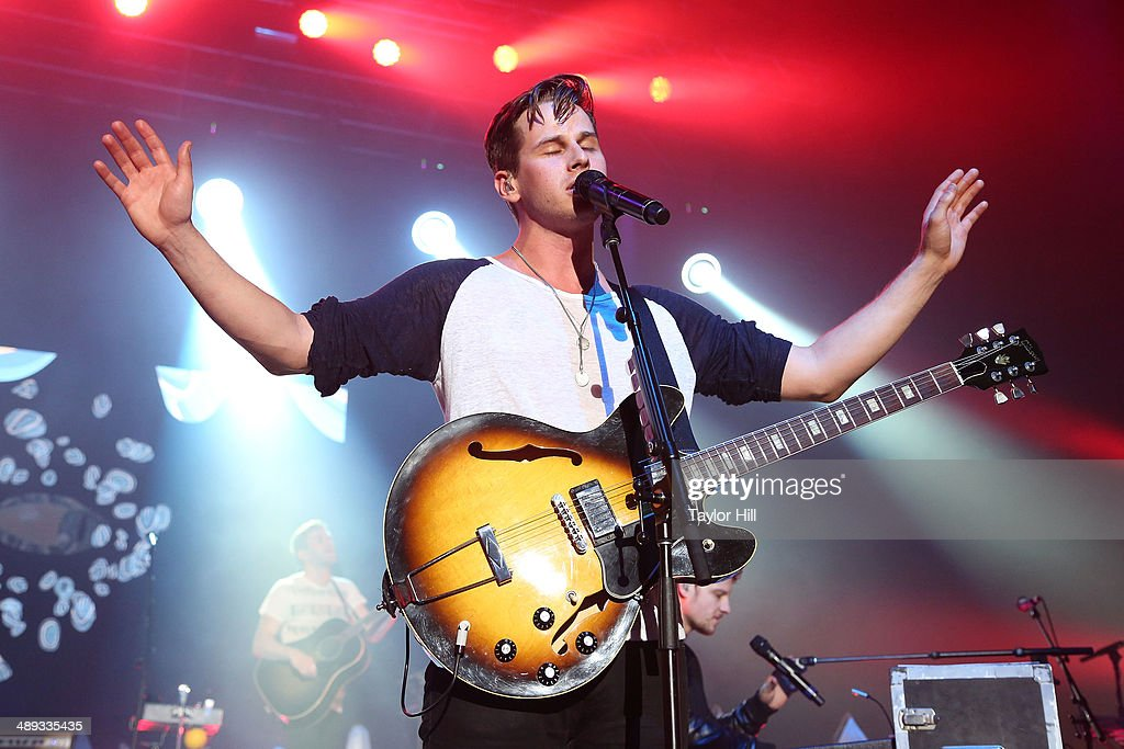 Mark Foster of Foster the People performs during the 2014 Sweetlife Music Food Festival at Merriweather Post Pavillion on May 10 2014 in Columbia...