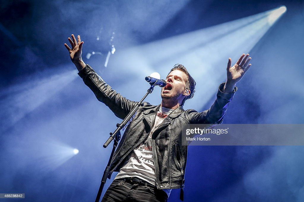 Mark Foster of Foster the People performs on Day 1 of the Ottawa Folkfest on September 10 2014 in Ottawa Canada