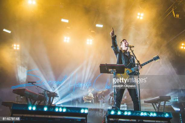 Mark Foster of Foster The People performs on stage at Somerset House on July 13 2017 in London England
