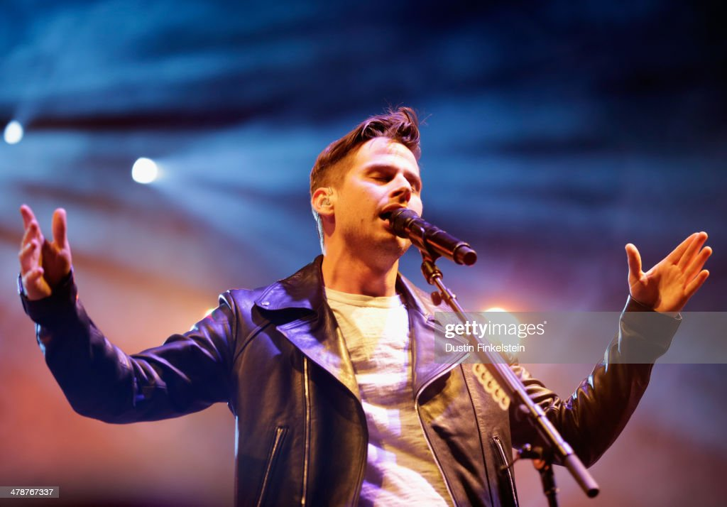 Mark Foster of Foster The People performs onstage during Foster The People Washed Out and Young and Sick during the 2014 SXSW Music Film Interactive...